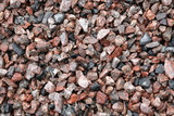 gravel for background, dayli time, pile of stone poster