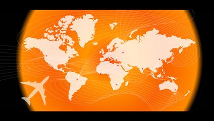 à travers le monde
