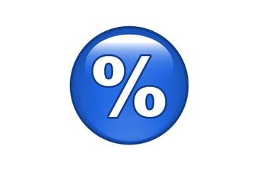 Aqua Button Prozent