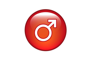 Aqua Button Männlich