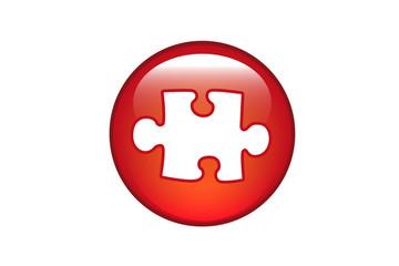 Aqua Button Puzzle