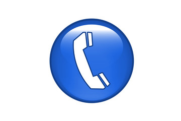 Aqua Button Telefon