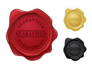 Guaranteed wax seals