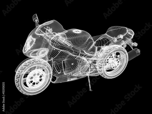 Motorcycle skeleton