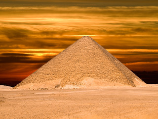 Great pyramid of Dashur (Red pyramid)