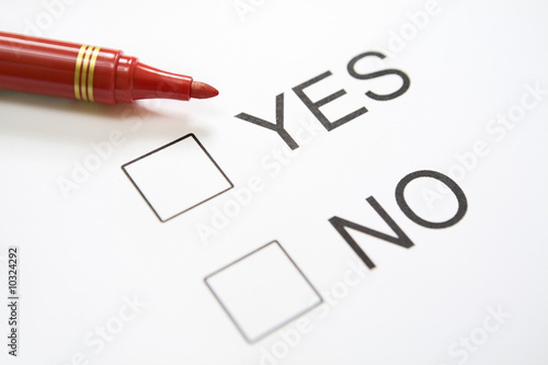 Undecided Yes-No question