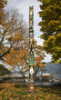 Fall Colors Totem Pole Horseshoe Bay Vancouver British Columbia