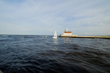 Sail Boat Lake Superior