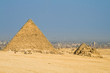 Two pyramid in Giza (Egypt)