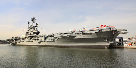 The Intrepid Museum in Manhattan