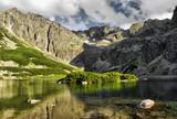 Fototapety Czarny Staw Gasiennicowy lake in polish Tatra mountains