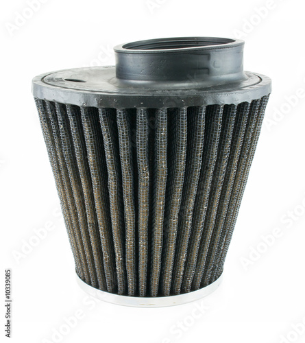 fuel primary filter isolated on a white background