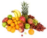 Vibrant Fruits poster
