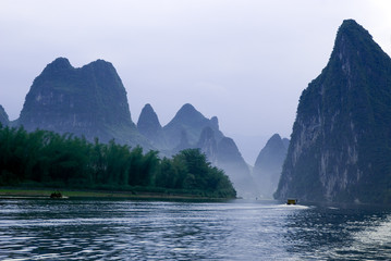 Li river near Yangshuo, Guanxi province, China