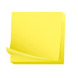 Sticky post it note pad
