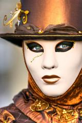 Beautiful mask in Venice, Italy.