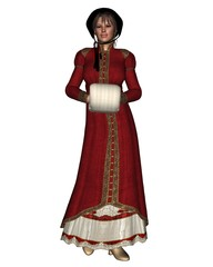 Regency Christmas Woman