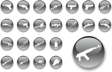 Set buttons. Weapon