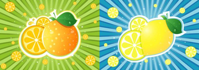 Orange vs lemon