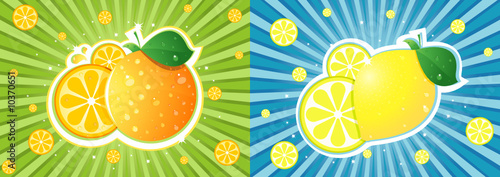 Orange vs lemon
