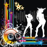 Fototapety vector music illustration