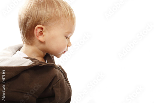 Little boy profile