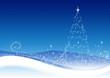 Snow Winter Christmas Tree