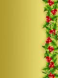 Fototapety Golden Christmas frame # 1