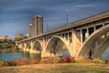 Saskatoon Broadway Bridge. HDR image. - 10379422
