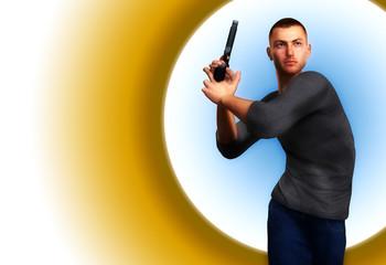 Undercover Cop With Gun 7