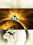 The creation is saved by the Lord Jesus Christ poster