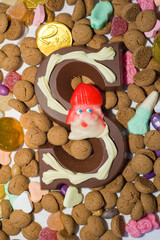 Lots of candy for the Sinterklaas celebration