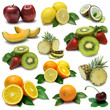Fruit sampler with clipping path
