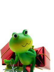 Froggy the gift deliverer