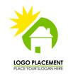 logo maison energie solaire