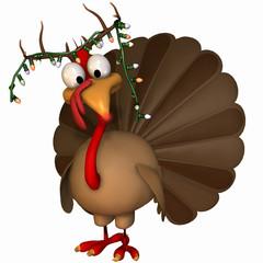 Toon Christmas Turkey