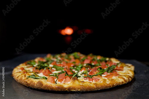 wood fired pizza oven - 10409890