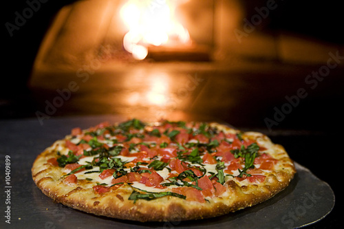 wood fired pizza - 10409899