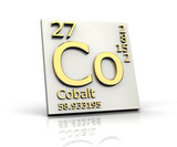 Cobalt form Periodic Table of Elements
