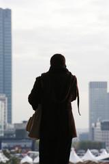 Femme urbaine Ville
