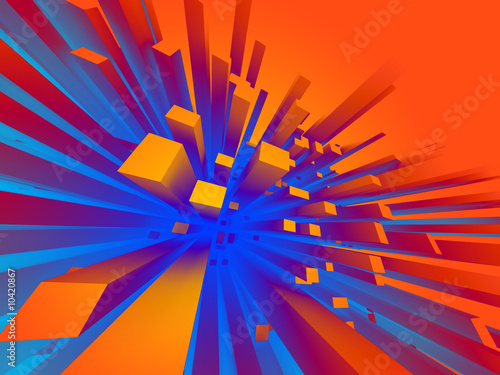 canvas print picture Abstract background