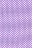 Fototapety 薄紫地に白の水玉模様の生地