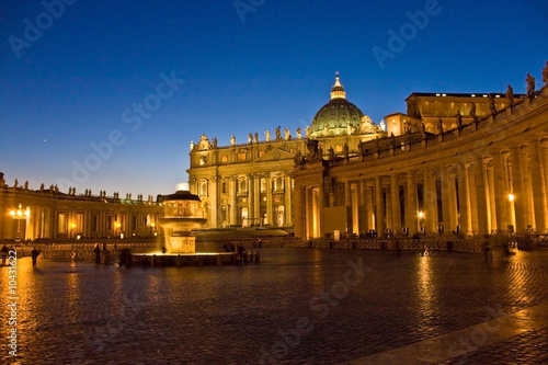 Rome by Night - San Pietro