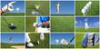 Golf Collage - Golfsport