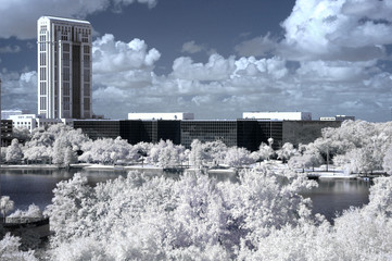 Infrared Office Buildings