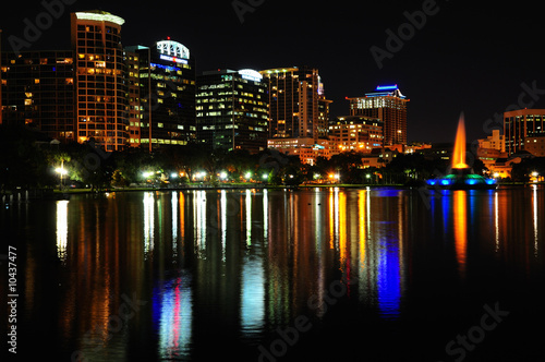 Downtown Orlando at Night