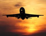 Fototapeta samoloty - Airliner - Samolot
