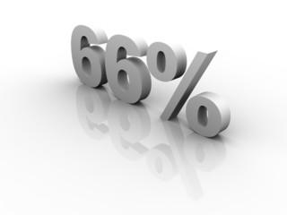 66 Prozent