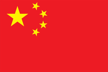 China Flag High Resolution
