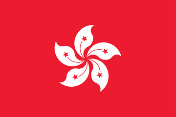 Hong Kong Flag High Resolution